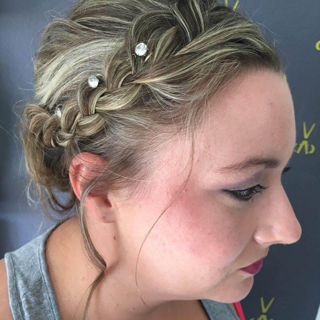 Brautfoto - Steckfrisur - Profil