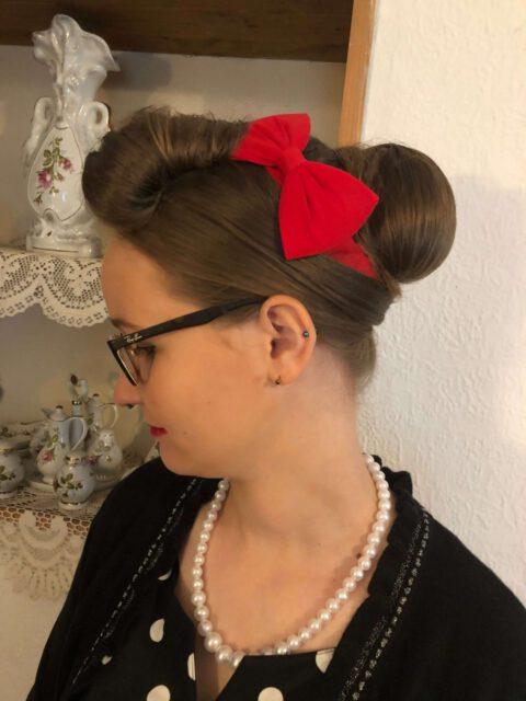 Brautfoto 60iger-Look - Profilansicht