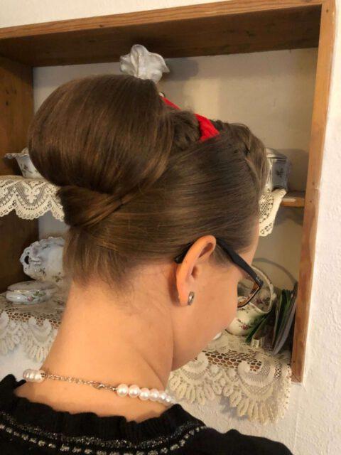 Brautfoto 60iger-Look - Hinteransicht